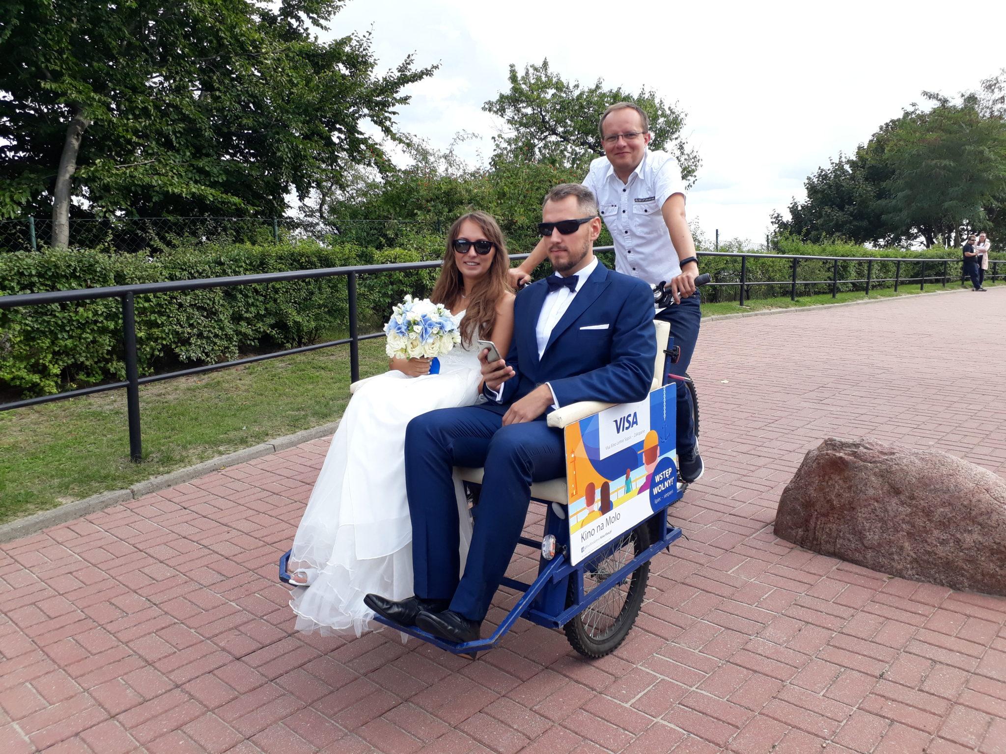 Riksze na ślub i wesele